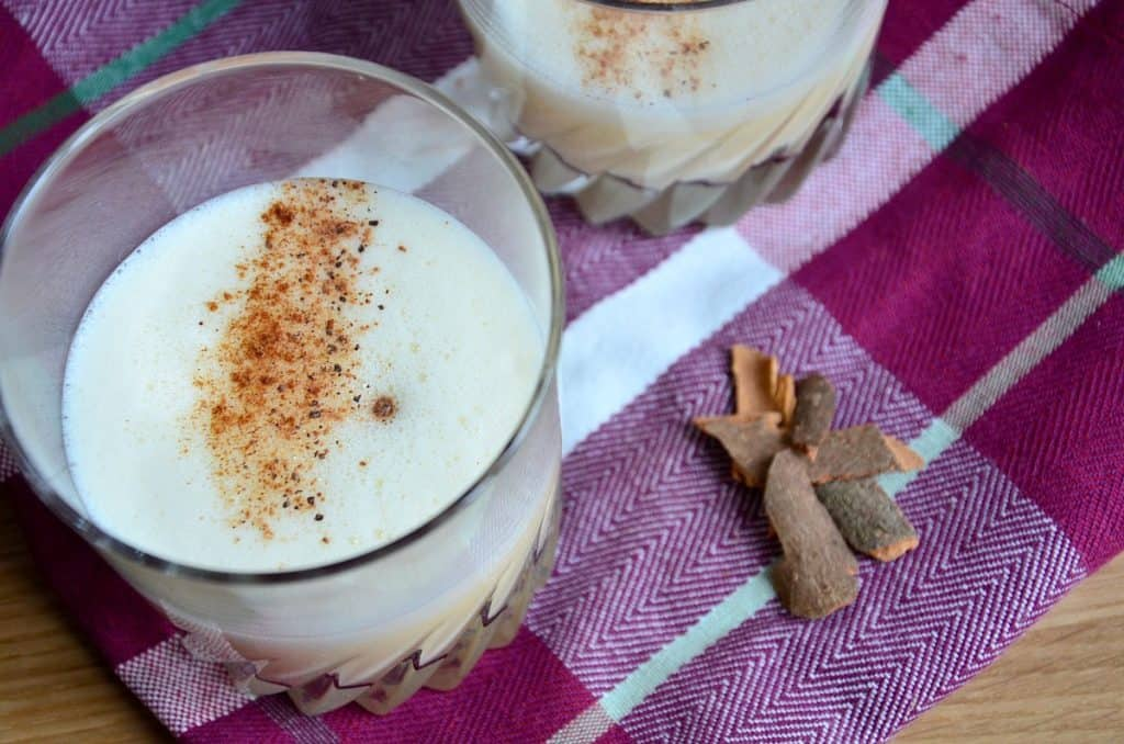 Egg nog au rhum