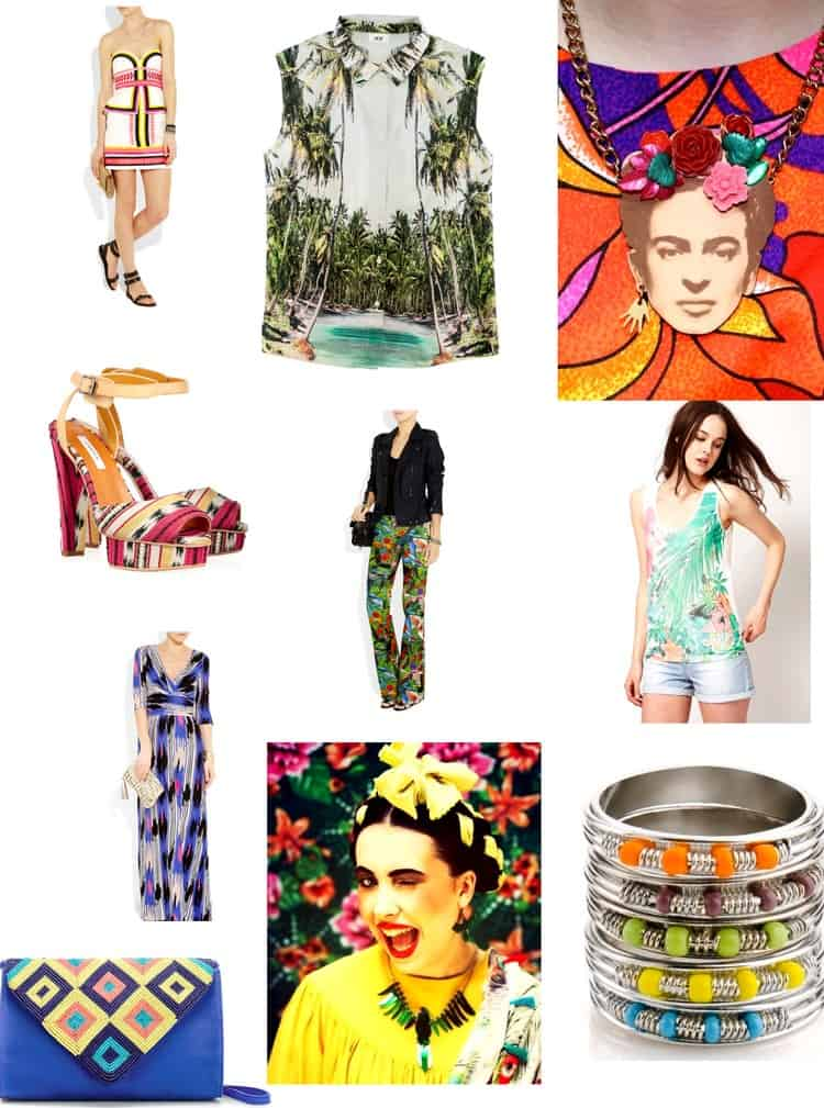 mexican outfits tropical clothes
