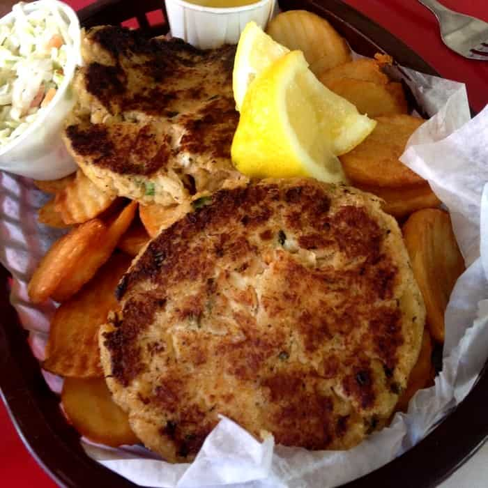 Mrs Mac's Kitchen - Key Largo - Crab Cakes