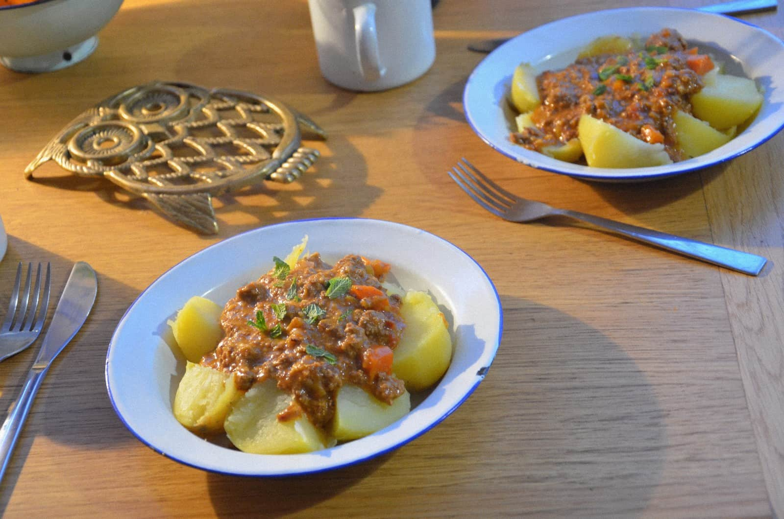Mince and tatties, un ragoût écossais