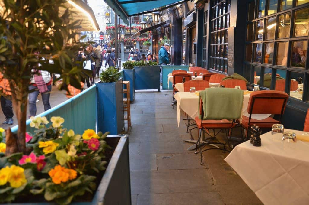 Londres : J.Sheekey Atlantic Bar, pour l'amour du poisson